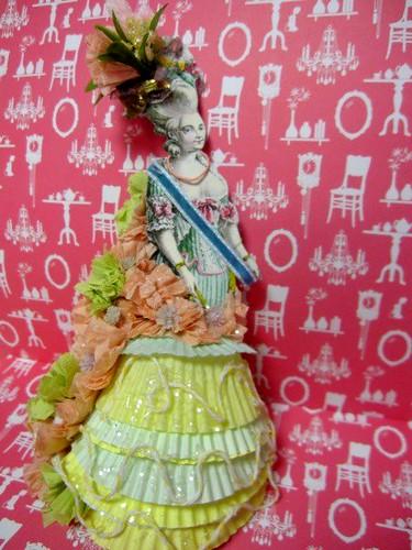 Cupcake Liner Doll, Fashion! 6