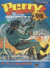 Perry #81 (micky the pixel) Tags: comics comic heft sciencefiction sf perry perryrhodan astronaut alien scifi johnnybruck dirkhess dastorzurunendlichkeit