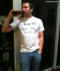 Error 404 Costume Not Found (sanitaryum) Tags: funny lol humor tshirt cleanhumor