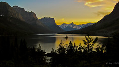 Saint Mary's Lake, Glacier National Park - Montana (samsomiller) Tags: canada banff