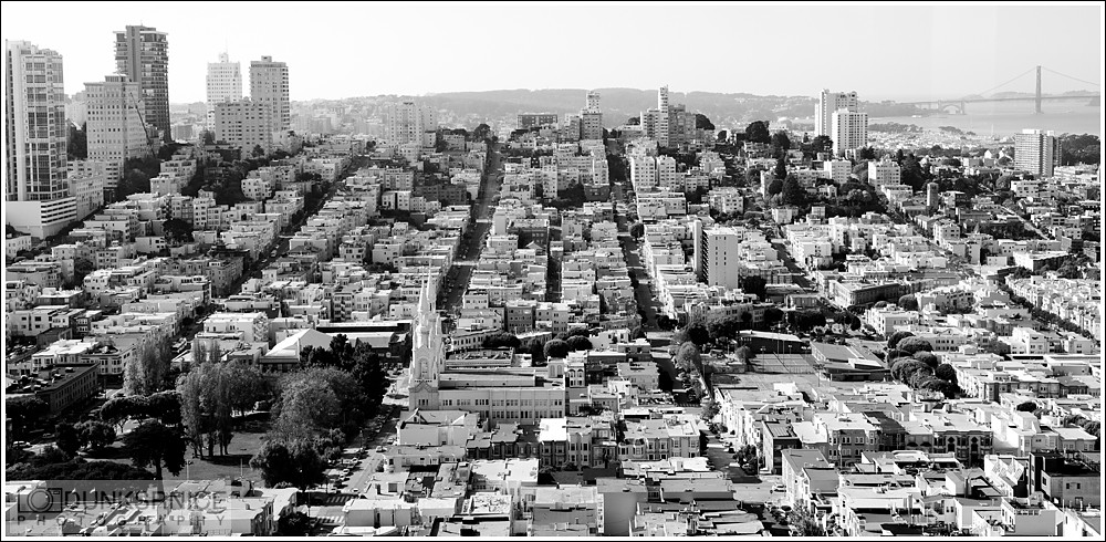 San Francisco B&W.