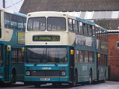 AMB volvo (Nathan's Transport photo's) Tags: volvo palatine olympian arriva northerncounties r233aey
