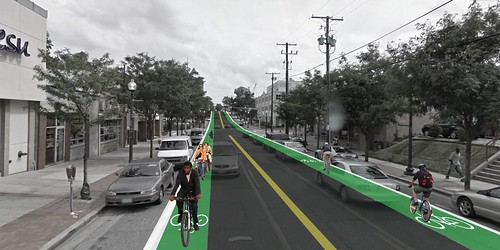 Fenton Street Bike Lane