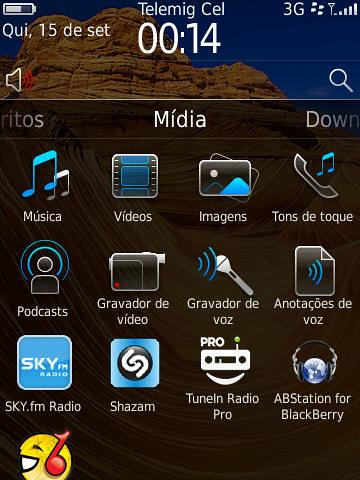 Mídia OS 6.0 BlackBerry by Rogsil