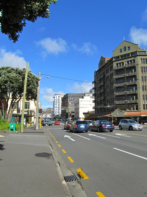 Taranaki Street, Wellington, New Zealand