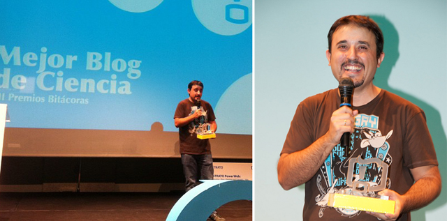 Foto 0 en  - Fogonazos, premio Bit�coras de Ciencia 2011