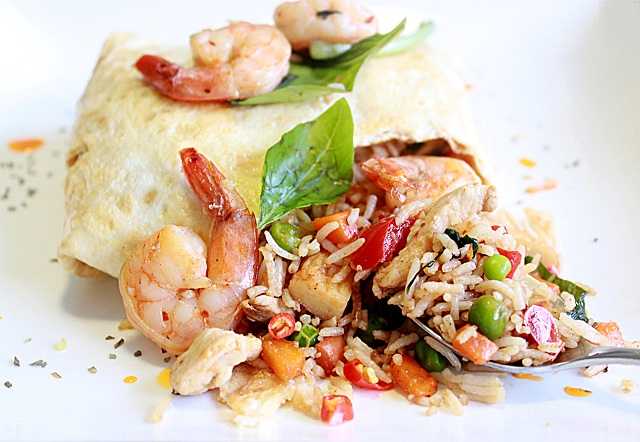basil pattaya fried rice