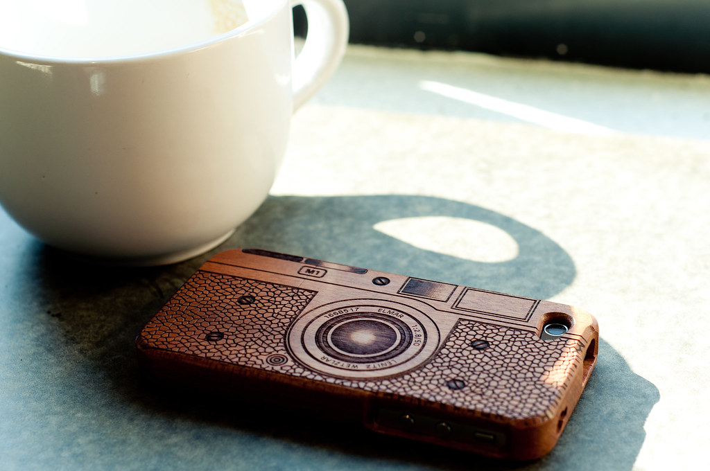 Wooden & Bamboo iPhone Case