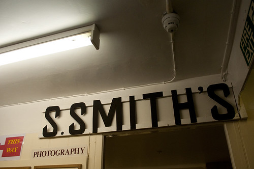 s.smiths sign, beck isle museum, pickering