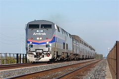 Amtrak 184 leading the California Zephyr (Amtrakdavis22) Tags: railroad train 5 amtrak passenger californiazephyr calp martinezsubdivision