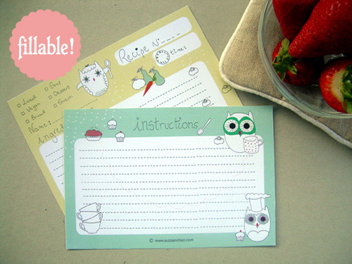 owl-recipe-card
