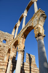 Anjar, Umayyad city, al-Walid I, 705-15, great palace (9) (Prof. Mortel) Tags: lebanon umayyad anjar