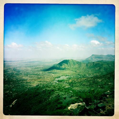 Sheikh Hussein hills Somaliland  thru Iphone Hipstamatic