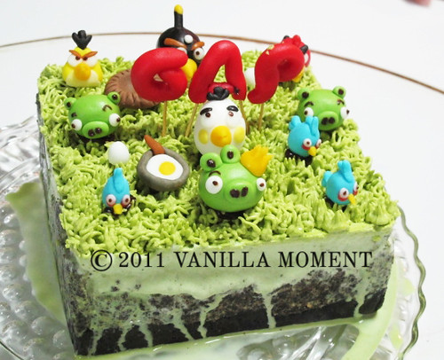Angry Birds Ice Cream Cake