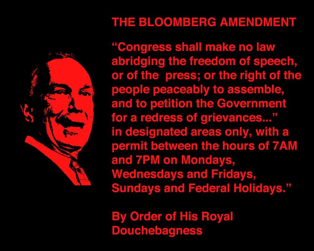 THE BLOOMBERG AMENDMENT