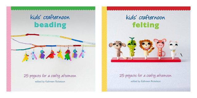 Between The Lines Kids Crafternoon Blog Tour Beading Felting