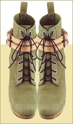 Swedish Hasbeens clog boots
