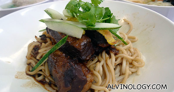 Stewed Pork La Mian