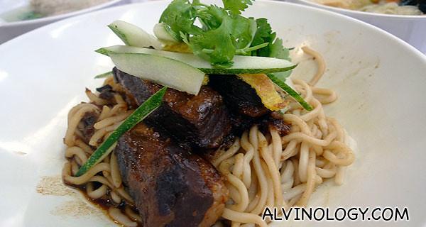 Stewed Pork La Mian