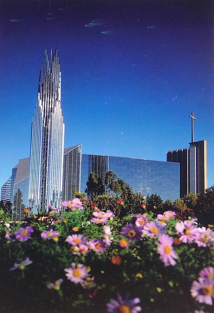 CRYSTAL CATHEDRAL Postcard