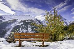 Pause (@lain G) Tags: nature montagne neige banc pelvoux hautesalpes chambran