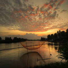 Good evening, Vietnam  -  Explore (rinogas) Tags: sunset clouds evening vietnam rinogas hian