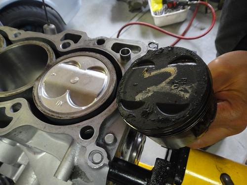 rs machine pistons b20