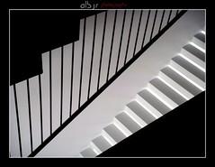 Escaleras (Stairs) (Alberto Jiménez Rey) Tags: bw abstract black blanco miguel stairs teatro photography gris y withe explorer negro gray steps bn minimal escalera explore step alberto manuel rey medina minimalism abstracto alvarez escaleras paralelas escalones lineas grises minimalista jimenez sidonia escalon sencillo peldaños peldaño mihura albjr albjr7