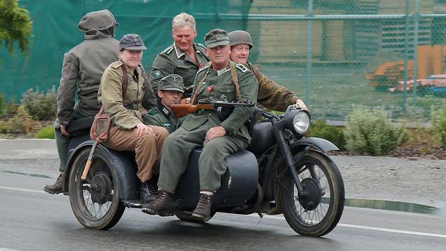 Storm Troopers on Motorbike!!!