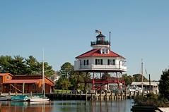 Drum Point Lighthouse, MD (hatchski) Tags: ocean light sea lighthouse beach museum bay coast md marine lighthouses maryland atlantic chesapeake calvert chesapeakebay solomons calvertmarinemuseum