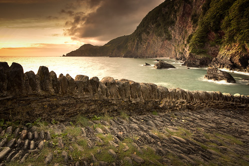 471/1000 - Woody Bay Sunrise 3 by Mark Carline