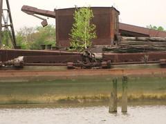 Rothko rust 2 (bk rabblerouser) Tags: newyorkcity abandoned boat rust decay statenisland arthurkill boatgraveyard