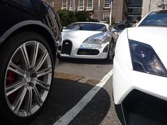 Veyron (BenGPhotos) Tags: blue white car chrome bugatti lamborghini supercar spotting astonmartin v10 gallardo w16 combo veyron v12 rapide superleggera worldcars lp5704