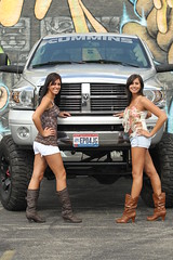 8in lifted dodge truck on 40s (WarriorRacing) Tags: hot truck rockstar dodge chicks xd cummins lifted 20inwheels 8inliftkit 40intires