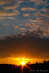 Une histoire de petit matin de semaine... (Sous l'Oeil de Sylvie) Tags: morning summer sky sun clouds sunrise soleil july ciel t nuages juillet matin leverdesoleil beauce k7 5h00sousloeildesylvie