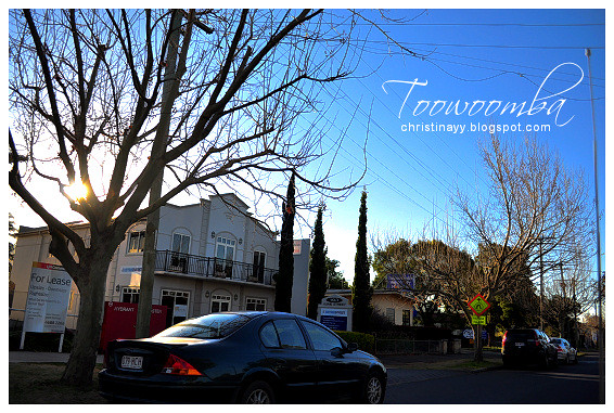 Winter In Toowoomba