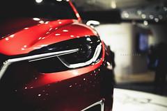 sharp eyed ([ embr ]) Tags: mazda concept vehicle car lights front lamps headlamps closeup design aims melbourne motorshow sigma30mm canon1000d