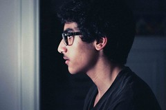 Self Portrait (46alal) Tags: light portrait selfportrait face self canon 50mm 18 lightroom 500d
