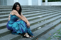 Resting (tgirl-katie) Tags: travel asian tv dress cd chinese formal ubc tgirl transgender tranny transexual transgendered crossdresser ts tg transsexual ladyboy greendress bluedress  m2f    newhalf