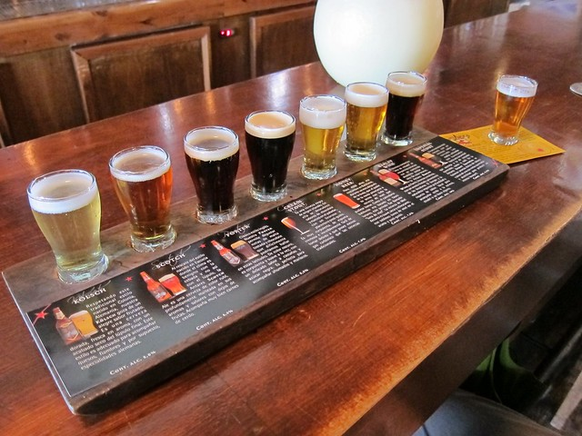 Beer Tasting at Antares Brewery
