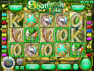 Shamrock Isle™ Slot Machine Game to Play Free in Rivals Online Casinos