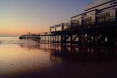 Pier. (sidibousaid60) Tags: uk sunrise reflections dawn pier seaside structure isleofwight sandown