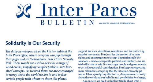 Inter Pares Bulletin