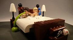 Star Wars Halloween Horror (Legoagogo) Tags: england starwars lego lukeskywalker sick leia chichester moc afol