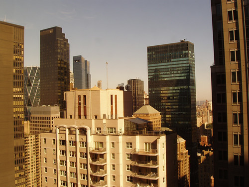 View from the Sheraton, New York, NY Oct 2011 by suzipaw
