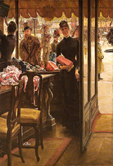 James Tissot - The Milliner's Shop, 1885 at Art Gallery of Ontario - Toronto Canada (mbell1975) Tags: toronto ontario canada art shop museum painting de james gallery can muse des impressionism ago impression impressionist 1885 tissot on the beauxarts lontario milliners