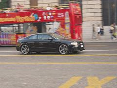 Successor. (Stefan Sobot) Tags: italy motion black moving nikon shot fast turbo verona audi panning v8 awd quattro rs5