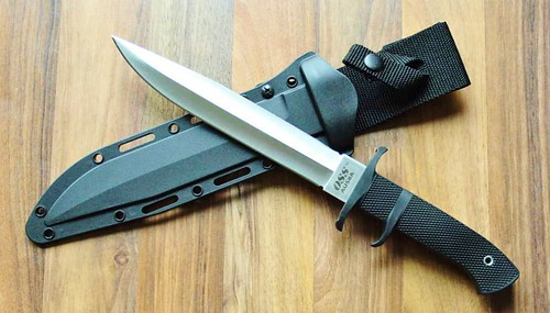 "Cold Steel OSS Subhilt Fighter 8-1/4"" Double Edge Blade"