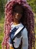 221 (Alrunia) Tags: dreadlocks toy doll nikki ooak barbie yarn christie asha dreads fashiondoll mattel aa shani reroot caligirl restyle 16thscale playscale