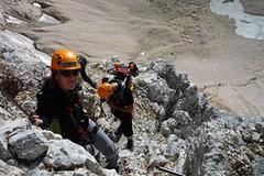 Via ferraty v Julských Alpách ve Slovinsku